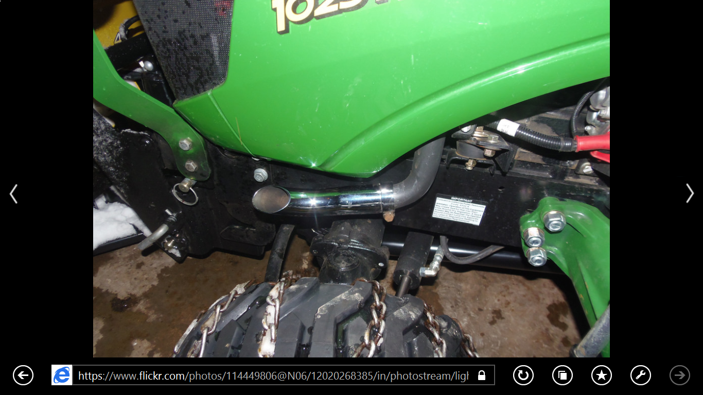 Tractor Exhaust Pipe Extension : Exhaust tip