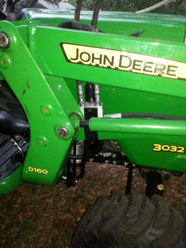 John Deere 3032e 3rd Function Valve Kit - The Best Photos Of