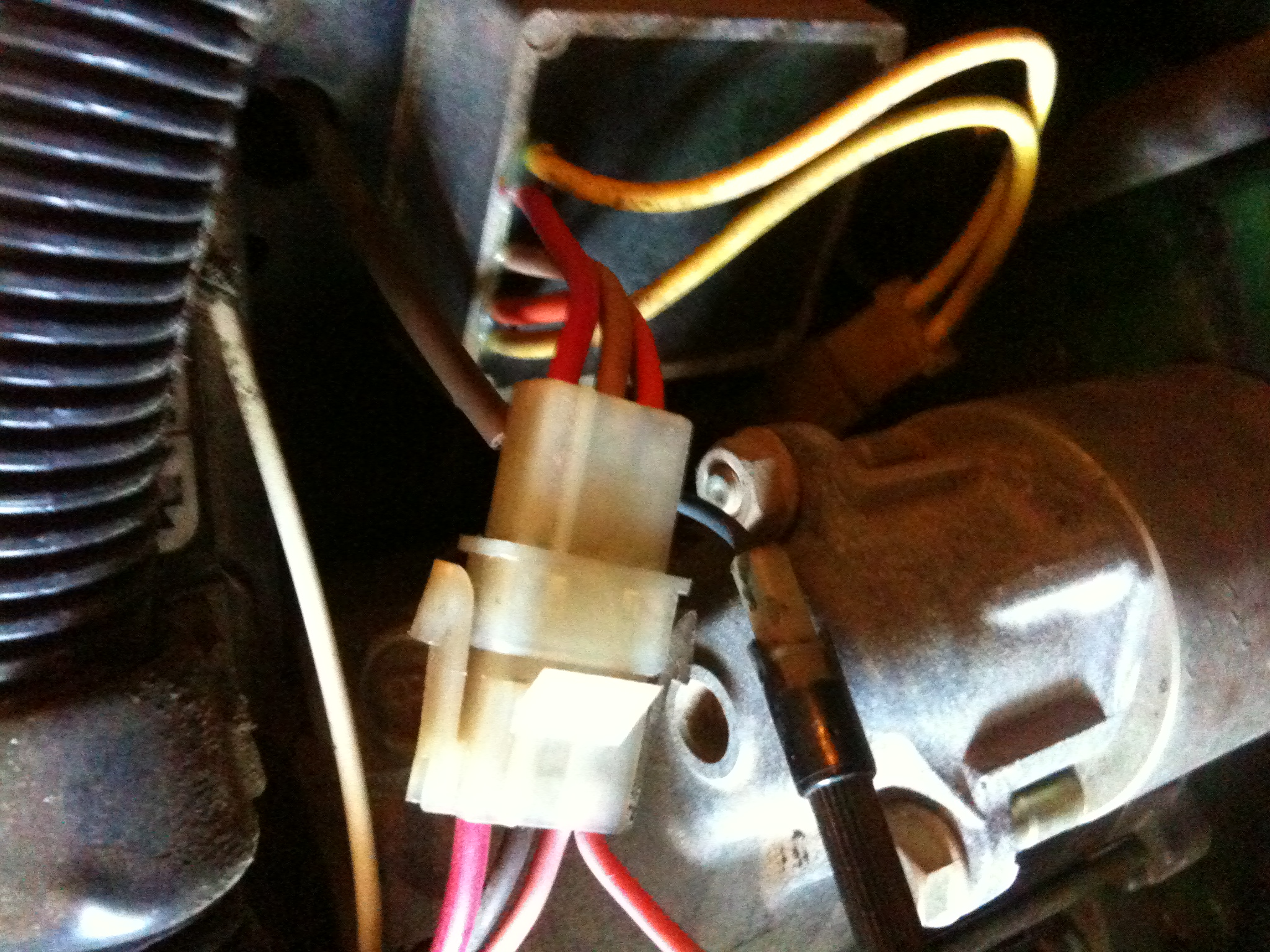 Help with Voltage Regulator ConfusionGT235 – Lt155 Wiring Harness