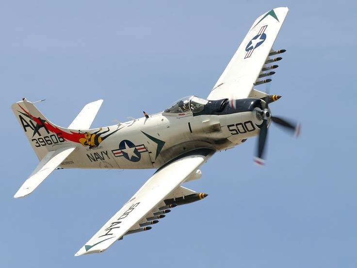 Click image for larger version.  Name:Warbird A1 Skyraider.jpg Views:14 Size:26.5 KB ID:40910