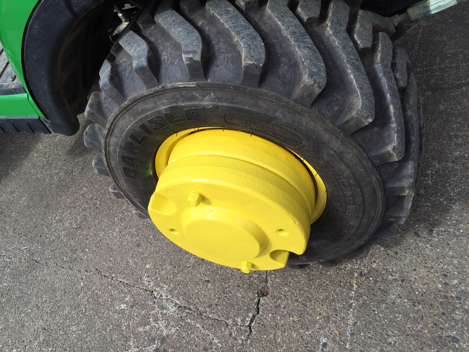 John Deere Rear Wheel Weights : Wheel weights page