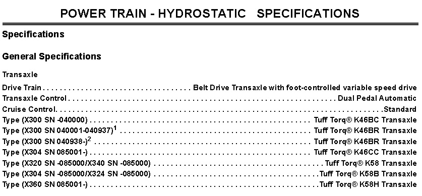 Click image for larger version.  Name:X300 series power train specs.jpg Views:3 Size:122.4 KB ID:694218