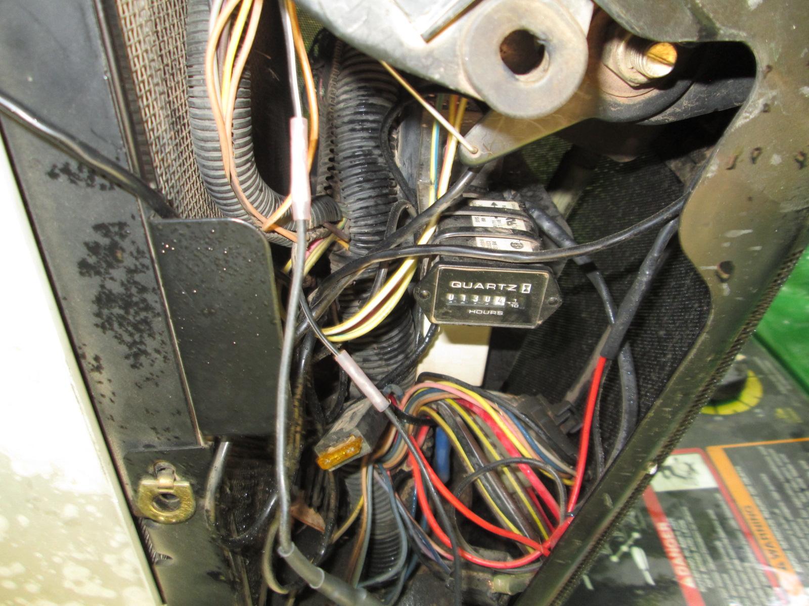 JD X485 fuel gauge suddenly quit working | Green Tractor Talk | X485 John Deere Wiring Diagram |  | Green Tractor Talk