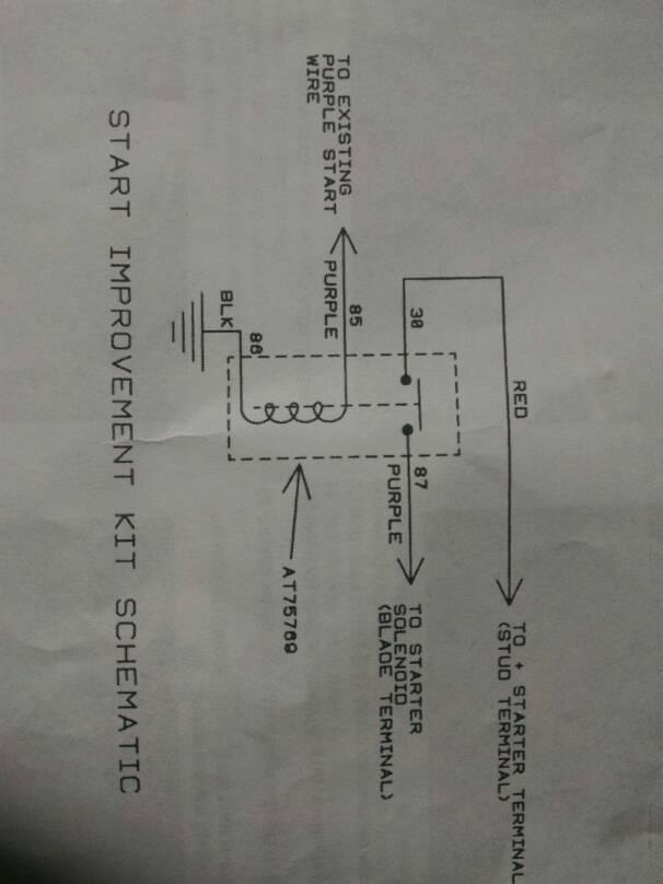 Relay SX95 - No Response | Green Tractor Talk on john deere srx95 manual, john deere wiring schematic, john deere srx95 belt diagram, john deere lawn tractor wiring, john deere srx95 lawn mower,