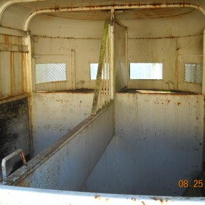 my horse trailer before